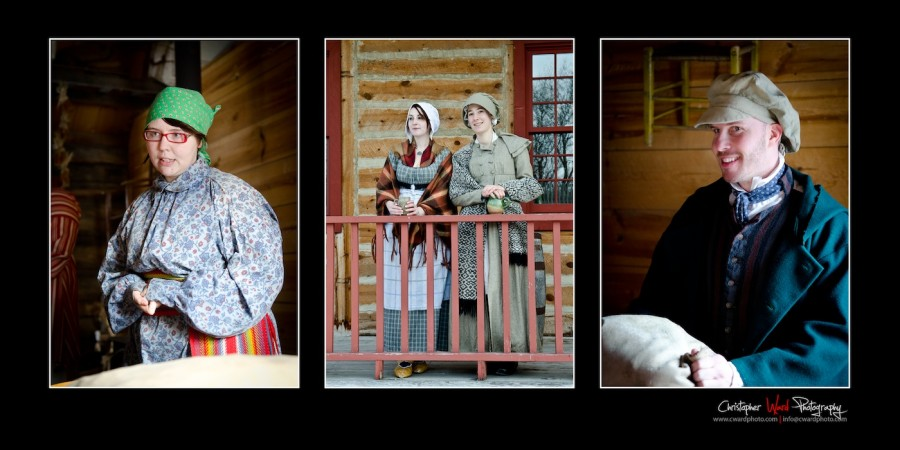 Period Actors at the Festival duVoyageur